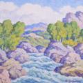 Birger Sandzen painting