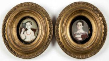 Portrait miniatures: personal mementos