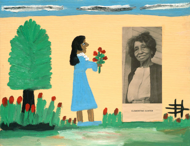 Artist Clementine Hunter S Home Opens To Public