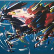 artworks by McArthur Binion