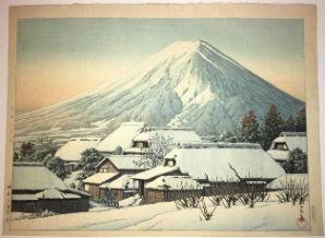 Shin-hanga gives new look to Japanese woodblock auction Nov. 14