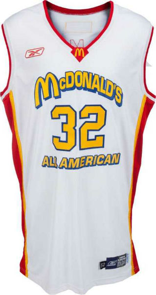 986ae5a9b A 2003 LeBron James game-worn McDonald s All-American uniform realized   18