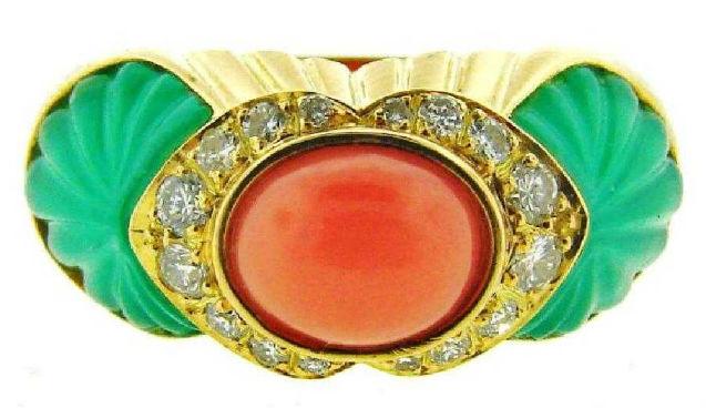 Festive colors, top designers set off fine jewelry auction Dec. 18