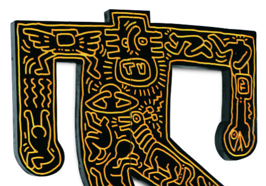 Keith Haring sculpture commands $537,500 at Jackson's auction