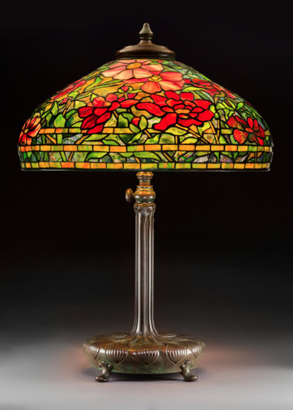 460fdf10f17 Tiffany lamps dominate prices realized at Heritage Auctions   1.2M sale