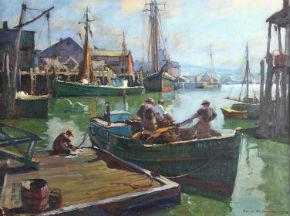 Kaminski showcases Emile Gruppe painting in Feb. 2-3 auction