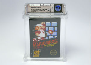 Super Mario Bros. video game sells for record $100K