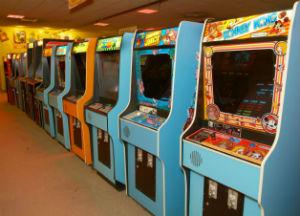 Going full tilt for arcade video games