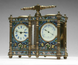 French carriage clocks – pretty and portable