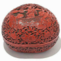 Chinese lacquerware carved