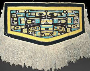 Native Pacific Northwest art linked to land, sea