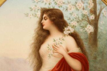 KPM porcelain beauties grace Kamelot auctions March 21, 23, 26