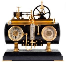 Clocks head array of antiques at Jeffrey Evans sale April 26-27