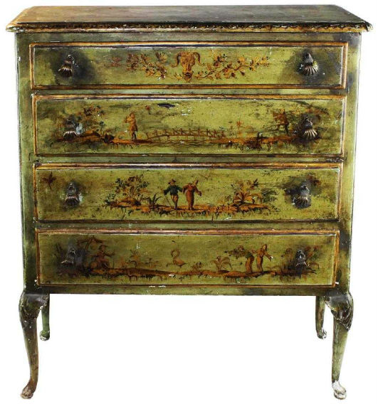 Queen Anne Furniture Still Stylish 2 Centuries Later