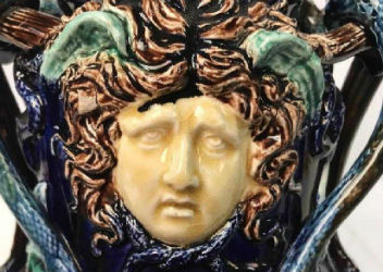 Majolica vessels top donations at Benefit Shop Foundation sale May 8