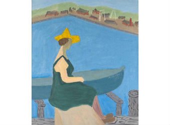 Milton Avery's 'Girl by Harbour' makes waves at Rago's fine art auction