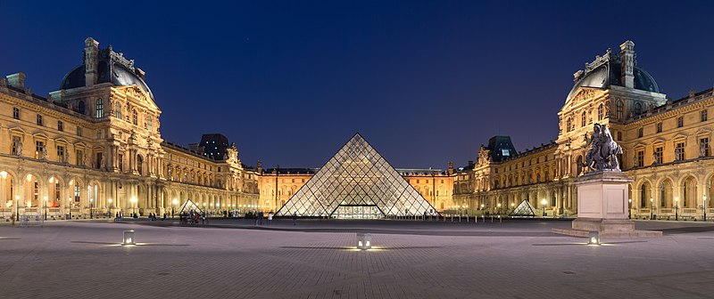 Louvre reopens