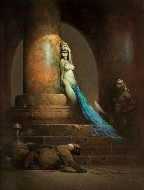 Frank Frazetta's 'Egyptian Queen'