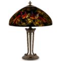 Fine art, clocks, lamps