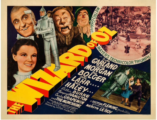 'Wizard of Oz' movie poster
