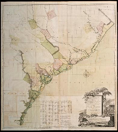 Colonial Williamsburg acquires rare 1780 map of Ga., S.C.