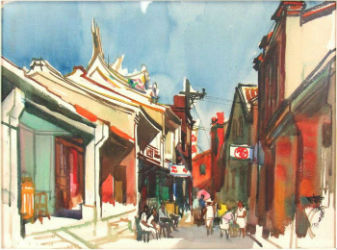 Paintings dominate bidding action at Clarke Auction Gallery