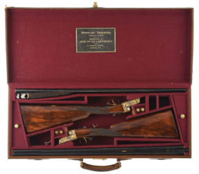 Gallery Report: Cased pair of vintage sporting guns bags $135K