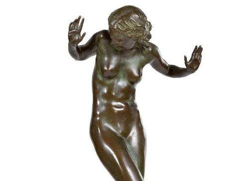 Harriet Frishmuth: stop-motion sculpture