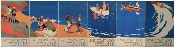 'East Coast Joys' poster set