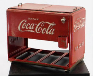 Coca-Cola collection starring attraction at Bruneau & Co. July 13