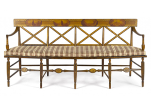 Sheraton furniture: stylish then, stylish now