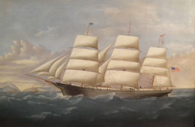 High seas adventure sailing to Americana Auctions July 21