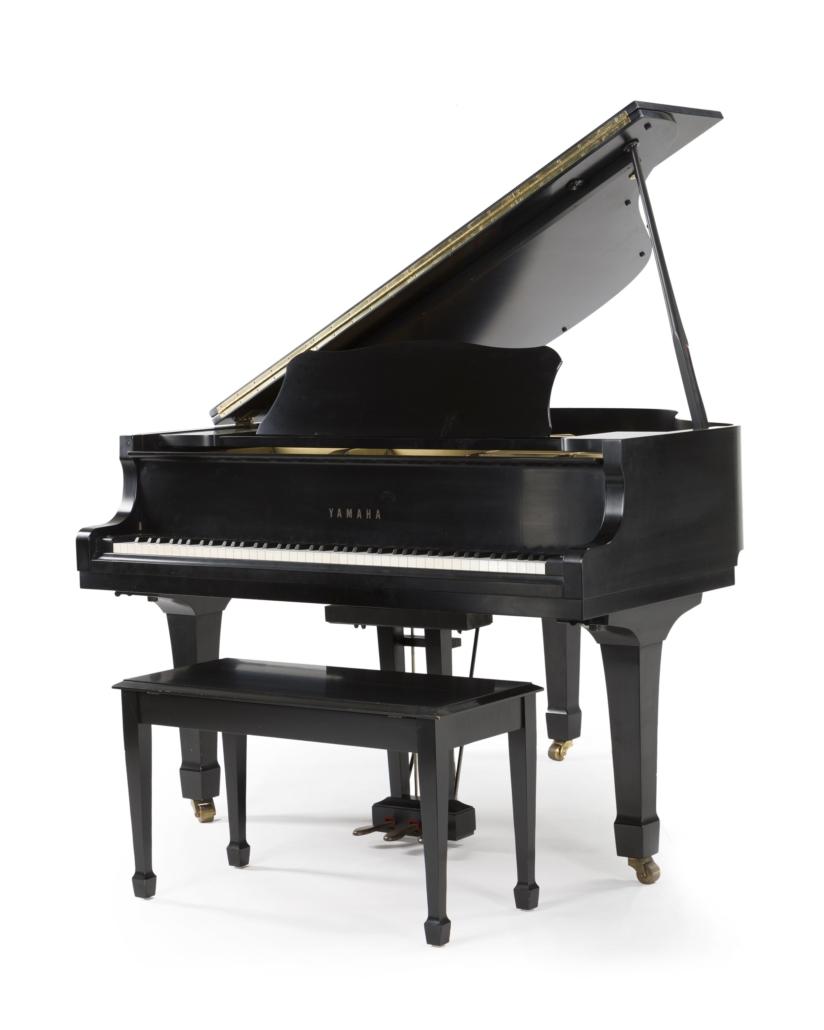 Yamaha baby grand piano, est. $3,000-$5,000