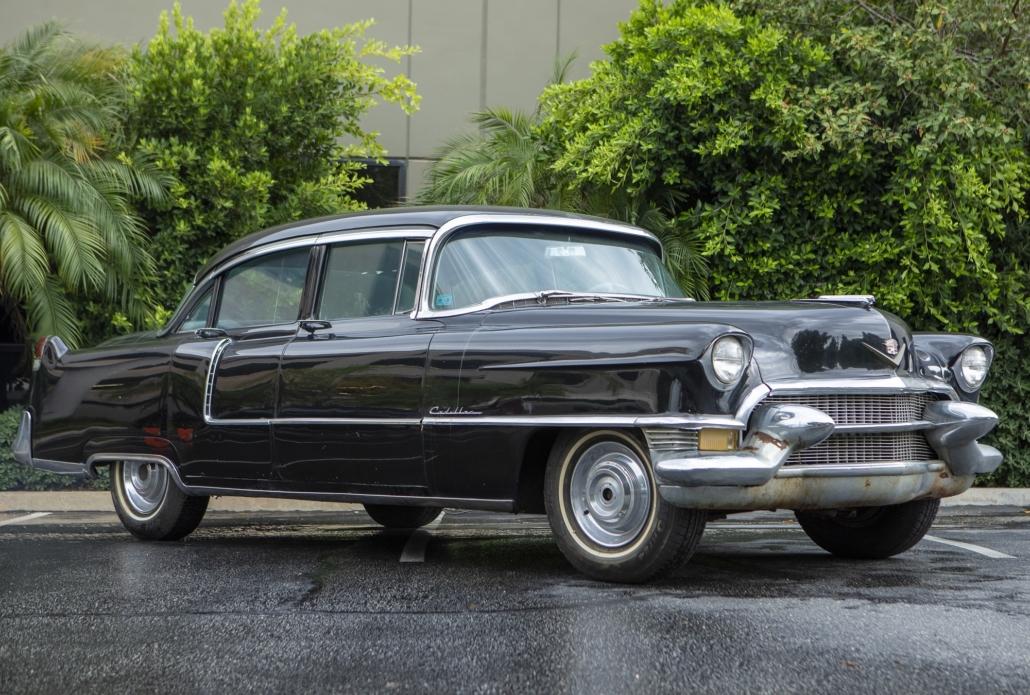 1955 Cadillac 6223 Series four-door sedan. Est. $3,000-$5,000