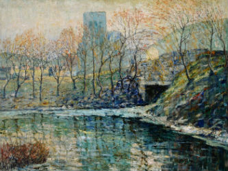 Ernest Lawson work among Michaan's many highlights Sept. 7