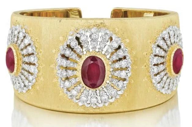Incomparable Buccellati cuff bracelets