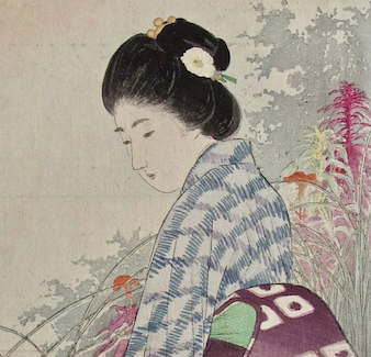 Japanese landscapes and society captured in woodblock prints offered Aug. 28