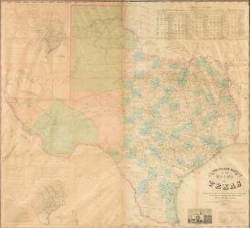 Early Texas map to star in Simpson Galleries sale Sept. 21-22