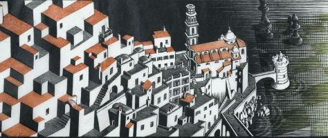 Extraordinary M.C. Escher print tops Clars sale at $98K