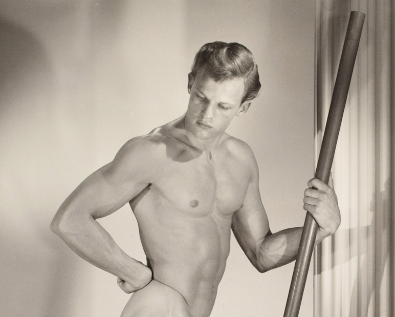 Sept. 26 auction features '50s/'60s male physique photos by Bruce of Los Angeles