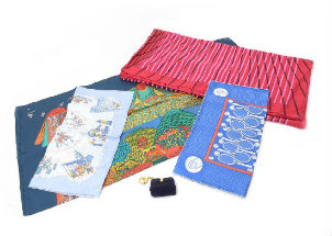 Hermes scarves: it's hip to be square