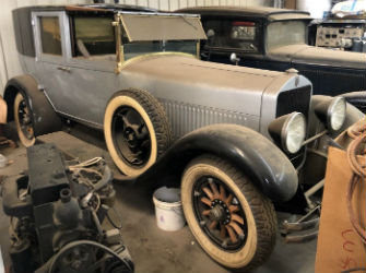 Activity Auctions to sell rare Cunningham town car Oct. 30