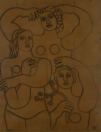 Fernand Léger study at forefront of Capsule Gallery sales Oct. 17