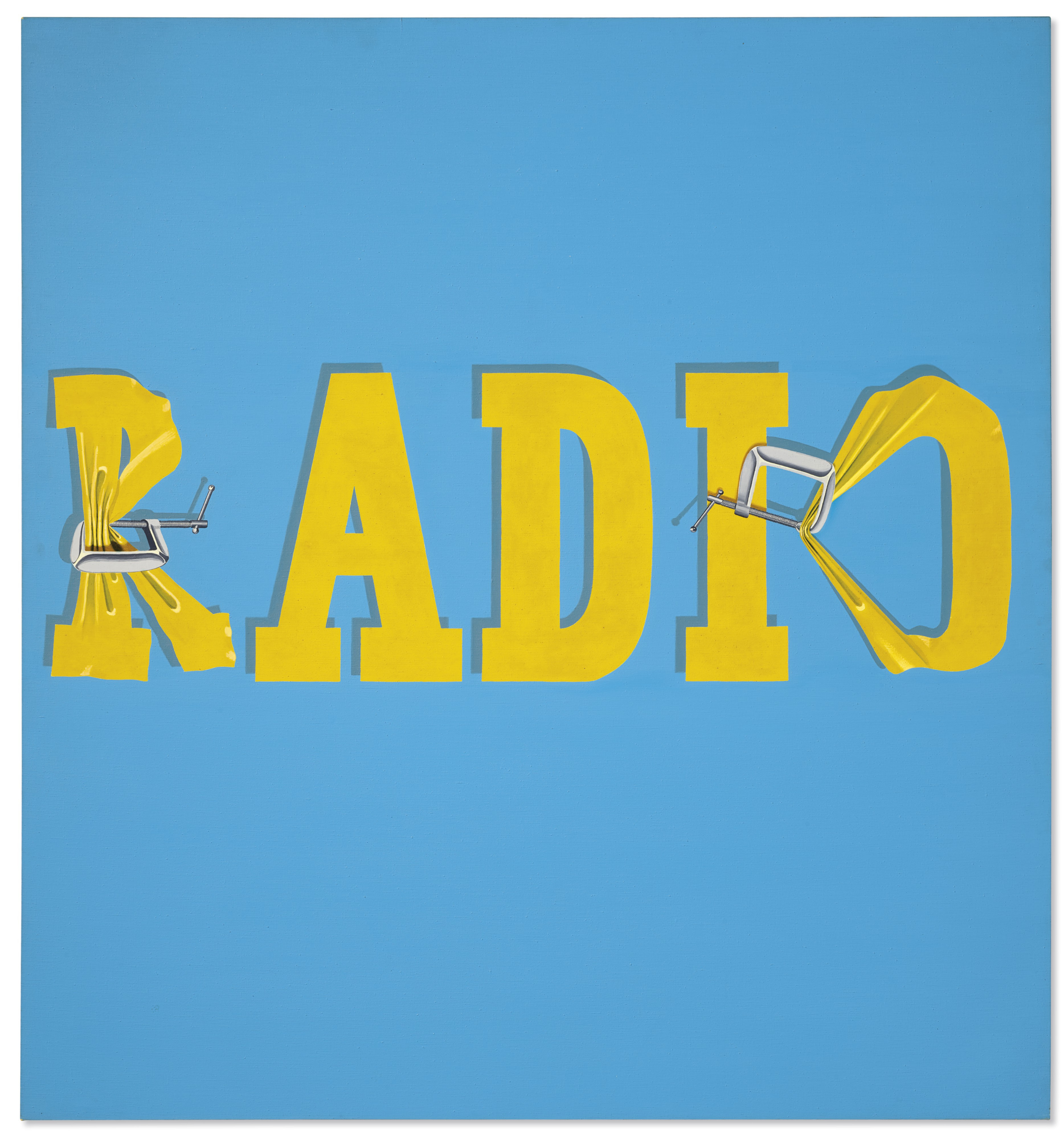 Christie's to auction Ed Ruscha's 'Hurting the Word Radio #2,' Nov. 13