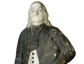 Ben Franklin to star at Thomaston Place auction Nov. 8-10