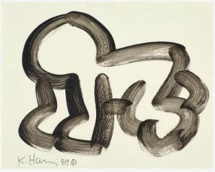 Keith Haring artwork tops $117K at Rago auction