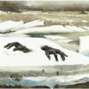 Bernard Cathelin painting