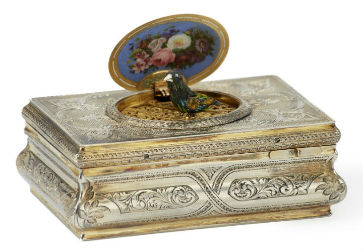 Music boxes keynote to Moran's auction Dec. 15