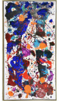 Sam Francis painting draws attention to Michaan's Dec. 6 sale