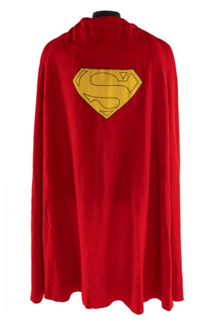 Superman cape soars